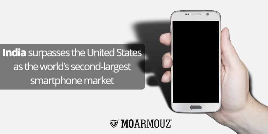 India surpasses the United States as the world's second-largest smartphone market