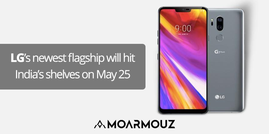 LG's newest flagship will hit India's shelves on May 25