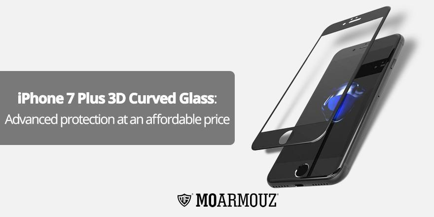 iPhone 7 Plus 3D Curved Glass: Advanced protection at an affordable price