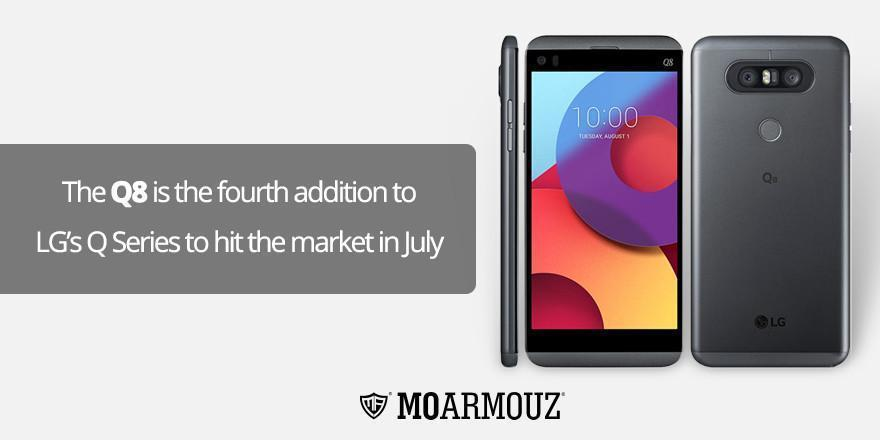 The Q8 is the fourth addition to LG's Q Series to hit the market in July