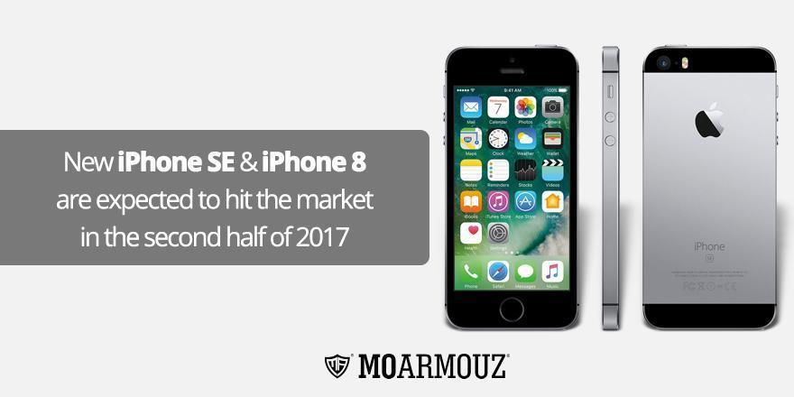 New iPhone SE & iPhone 8 are expected to hit the market in the second half of 2017