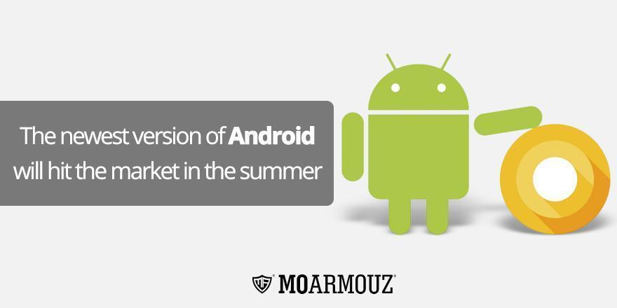 The newest version of Android will hit the market in the summer