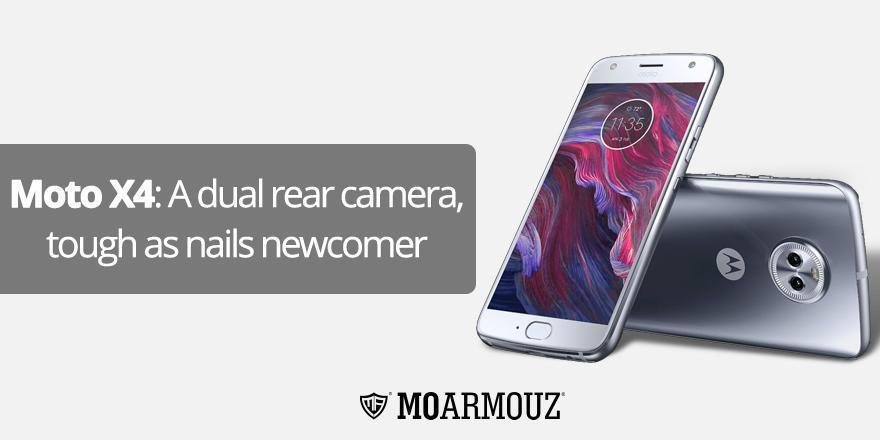 Moto X4: A dual rear camera, tough as nails newcomer