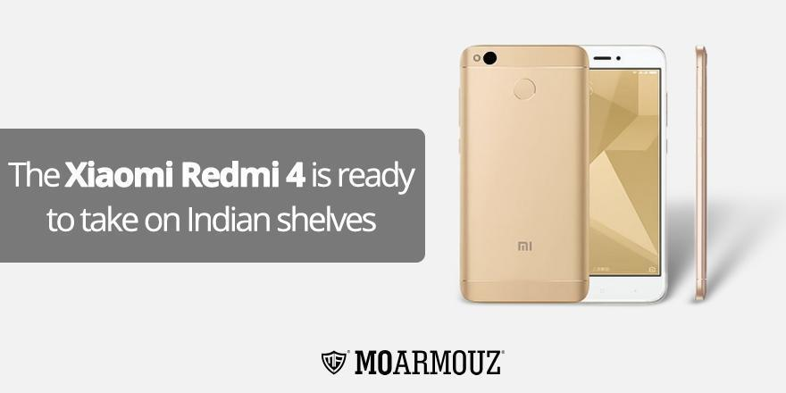 The Xiaomi Redmi 4 is ready to take on Indian shelves