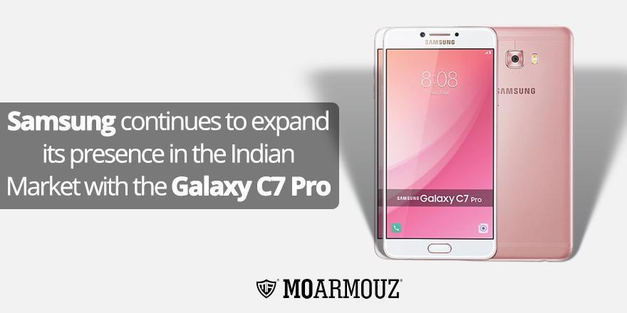 Samsung continues to expand its presence in the Indian Market with the Galaxy C7 Pro