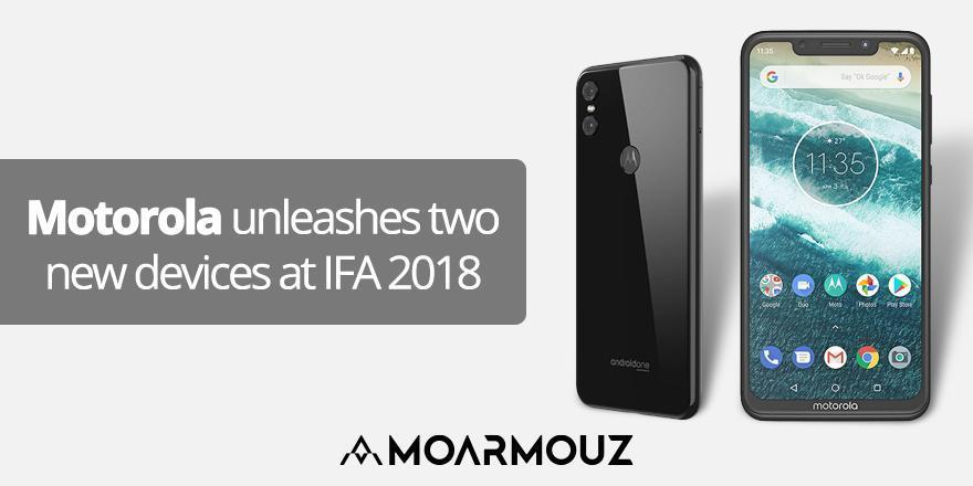 Motorola unleashes two new devices at IFA 2018