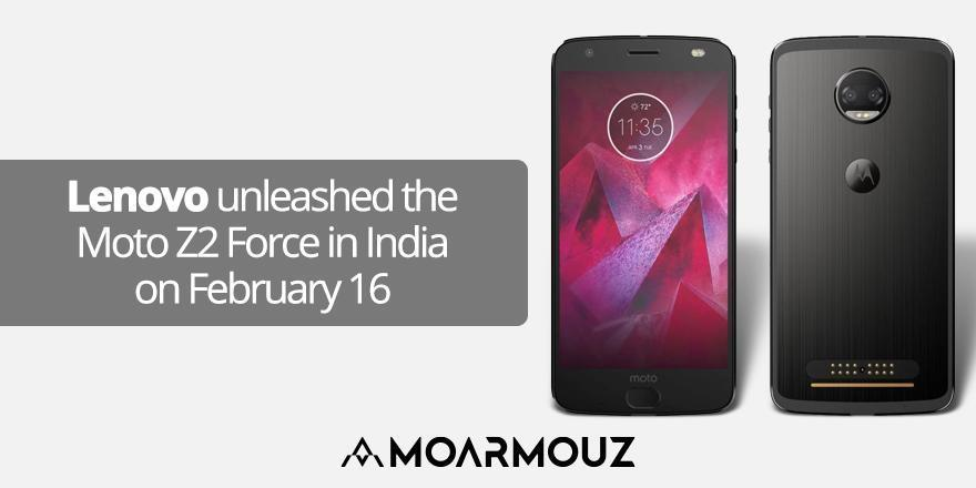 Lenovo unleashed the Moto Z2 Force in India on February 16
