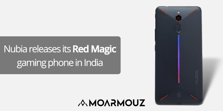 Nubia releases its Red Magic gaming phone in India