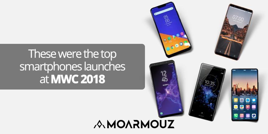 These were the top smartphones launches at MWC 2018