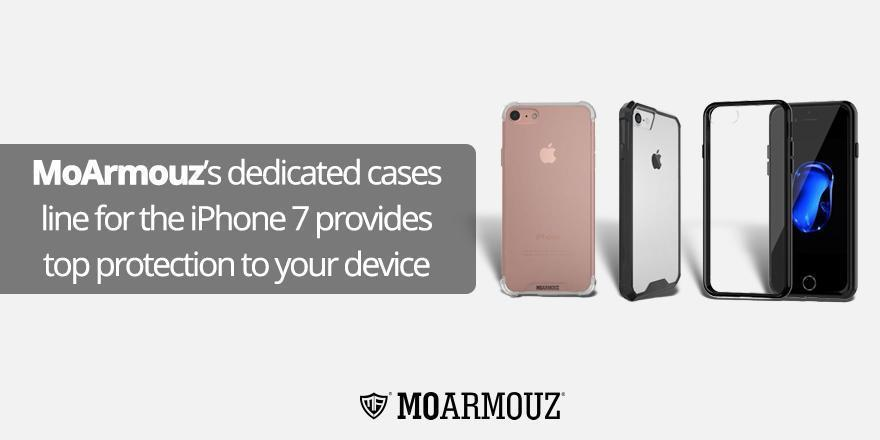 MoArmouz's dedicated cases line for the iPhone 7 provides top protection to your device