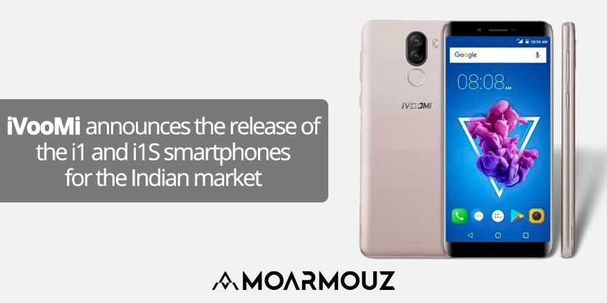 iVooMi announces the release of the i1 and i1S smartphones for the Indian market