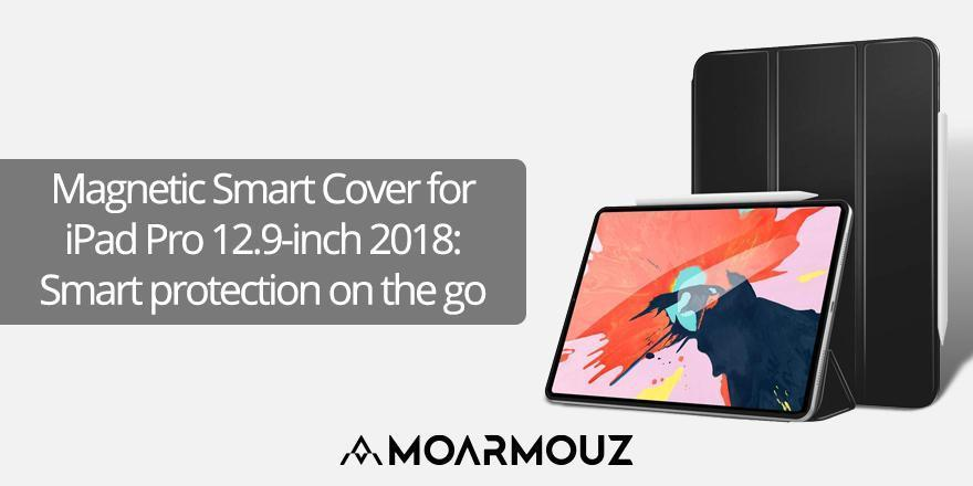 Magnetic Smart Cover for iPad Pro 12.9-inch 2018:  Smart protection on the go