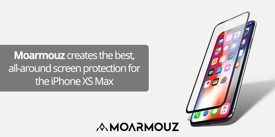 Moarmouz creates the best, all-around screen protection for the iPhone XS Max
