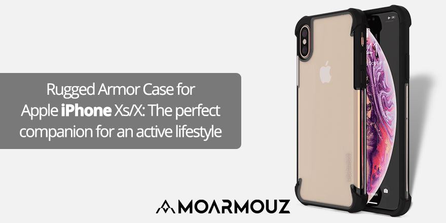 Rugged Armor Case for Apple iPhone Xs/X: The perfect companion for an active lifestyle.