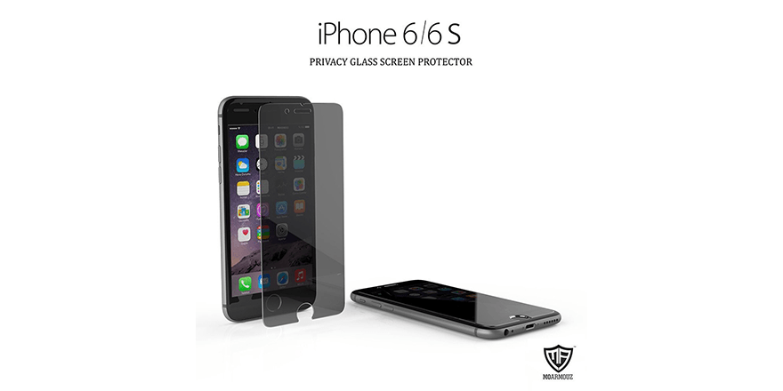 Protect your privacy with Moarmouz's super strong anti spy screen guard