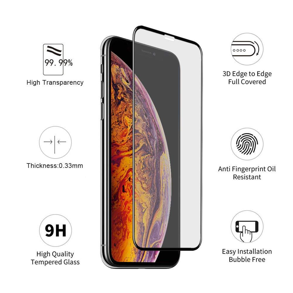 MoArmouz - iPhone XS/X Tempered Glass Screen Protector (2.5D)