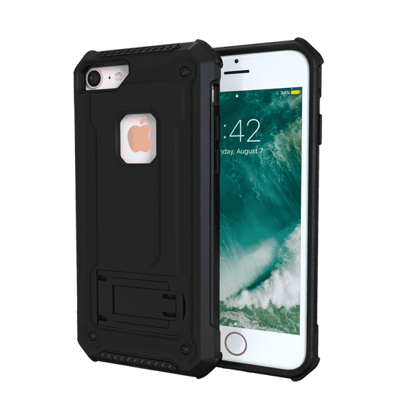 MoArmouz - Kickstand Rugged Protective Case for iPhone 8