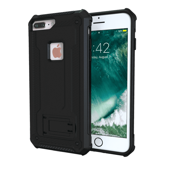 MoArmouz - Kickstand Rugged Protective Case for iPhone 8 Plus