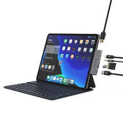 Type C (USB-C) 6 in 1 iPad Pro Hub
