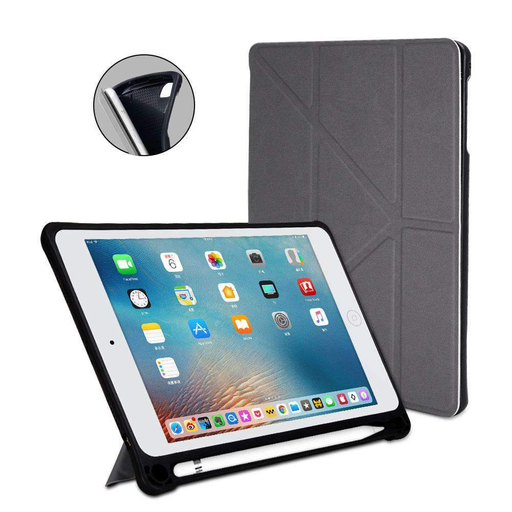 MoArmouz - Multifold Cover with Apple Pencil Holder & Auto Sleep Wake for iPad Mini 5 (2019) / Mini 4