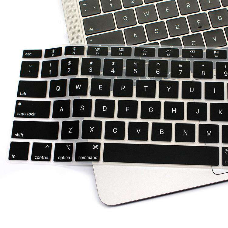 MoArmouz - Keyboard Protector for MacBook Air 13-inch (2018) - Black
