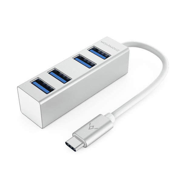 MoArmouz - Type C (USB-C) 4 in 1 Multiport USB 3.0 Hub