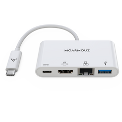 Type C (USB-C) 4 in 1 Multiport Gigabit 4K HDMI Hub