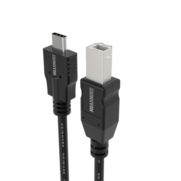 MoArmouz - USB 3.1 Type-C to USB-B (2.0) Printer Cable