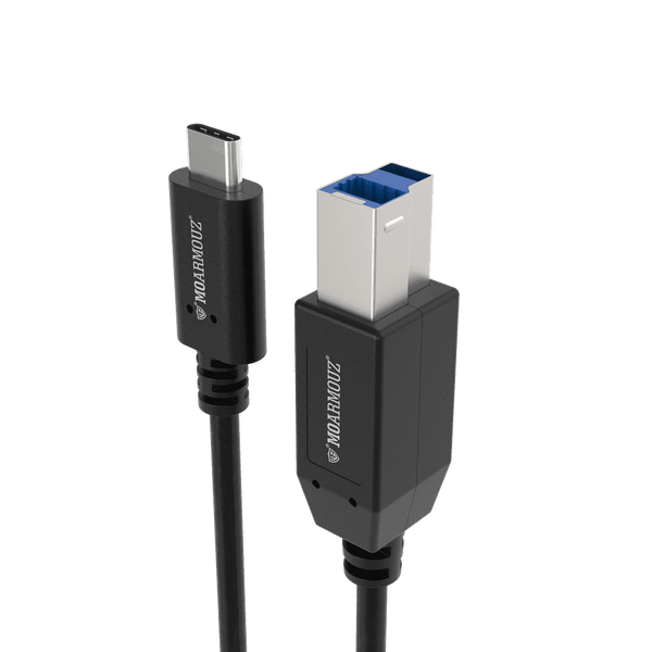 MoArmouz - USB 3.1 Type-C to USB-B (3.0) Printer Cable