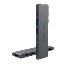 MoArmouz - Type C (USB-C) 7 in 2 Thunderbolt 3 Multiport HDMI HUB