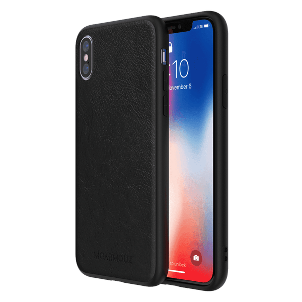 MoArmouz - PU Leather Protective Case for iPhone X