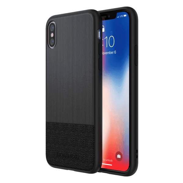 MoArmouz - PU Wooden Protective Case for iPhone X
