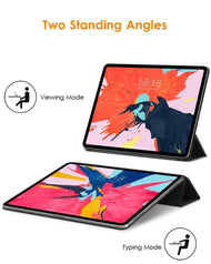 Smart Cover for iPad Pro 11-inch 2018 [Apple Pencil Pair & Charge Supported]