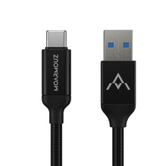 USB 3.2 Gen 2 USB-C to USB-A 3.0 (100W/10Gbps) Cable