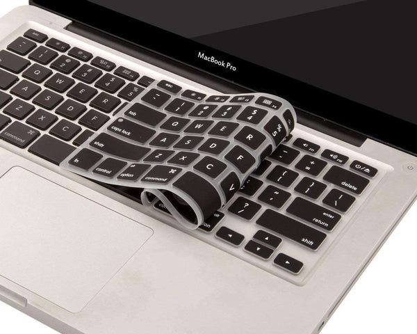 MoArmouz - Keyboard Protector for MacBooks (2012-2015) - Black