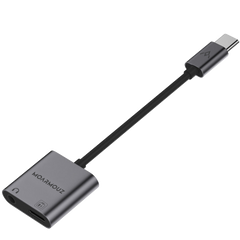Type-C to 3.5mm Audio and Charge Headphone Adapter