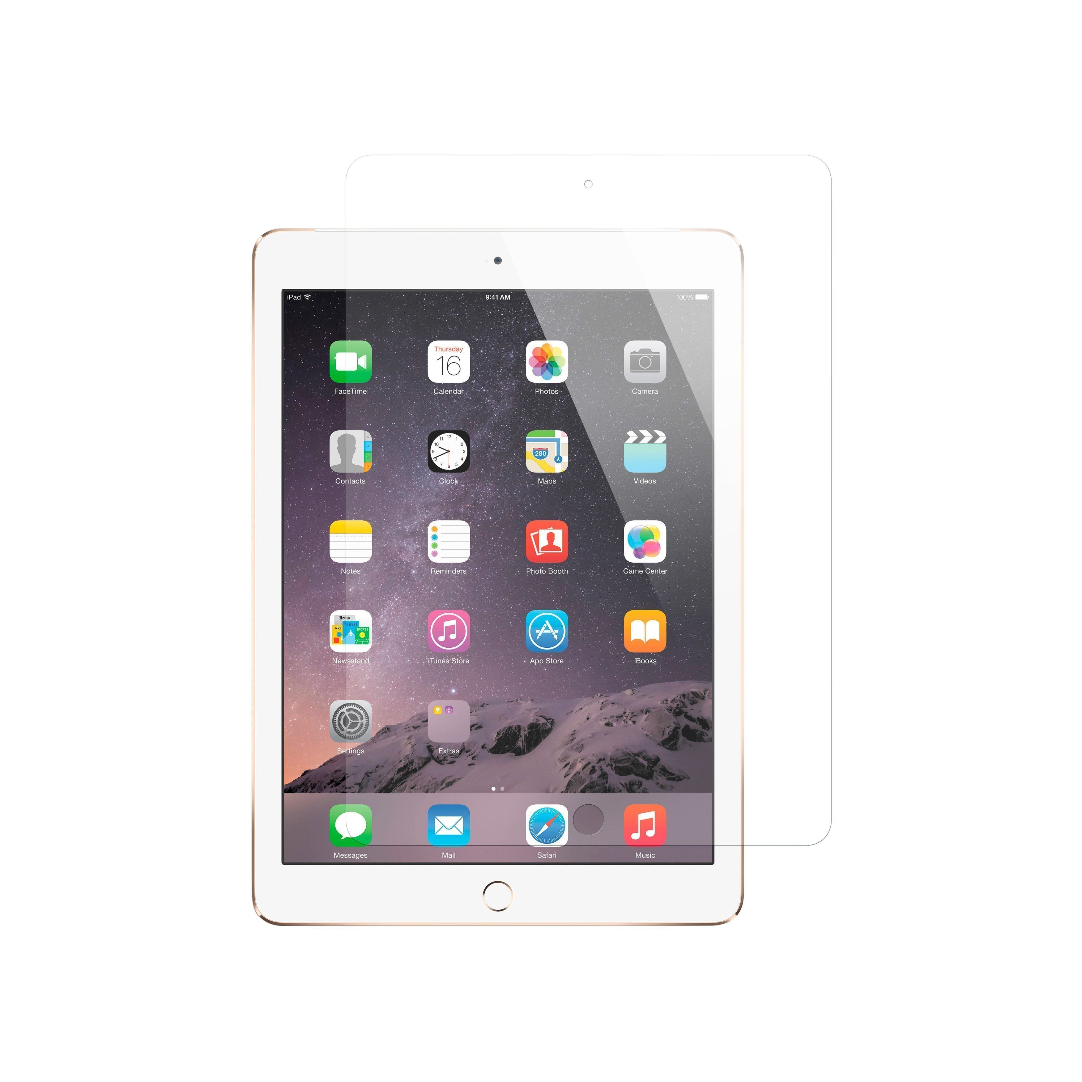 """iPad Pro 12.9/"""" Screen Protector Cover Protection Case Film Tempered Glass Clear"""