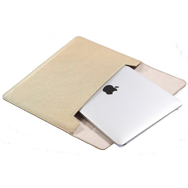 "Lichi PU Leather Sleeve for 12"" New MacBook - MoArmouz"