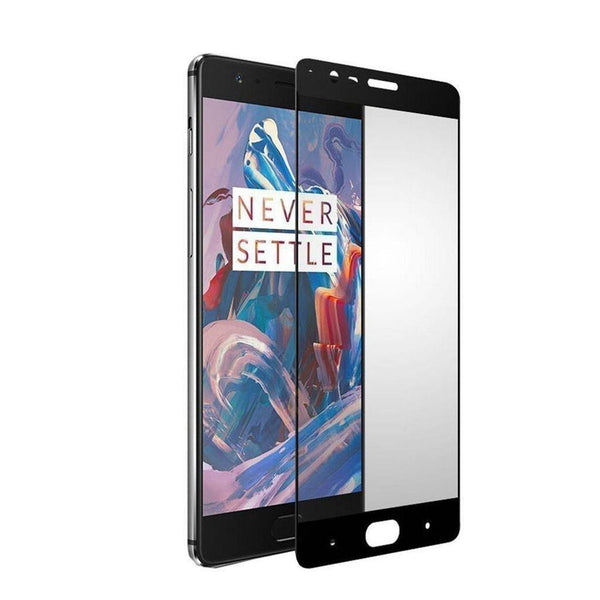 OnePlus 3 Full Cover Tempered Glass - MoArmouz