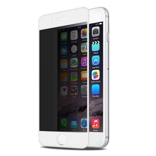 MoArmouz - Privacy Full Cover Tempered Glass for iPhone 6S Plus/6 Plus