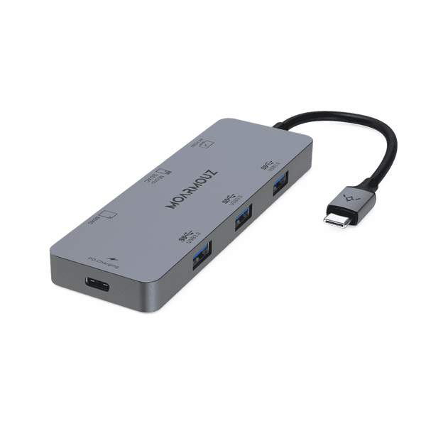 MoArmouz - Type C (USB-C) 7 in 1 Multiport HDMI HUB