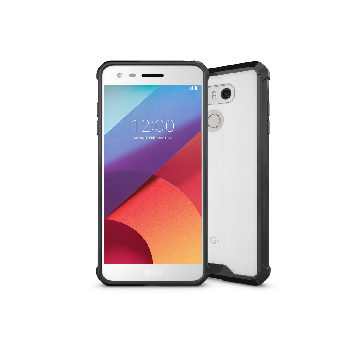 Shock Absorption Case for LG G6 - Air Hybrid Armor Defender Protective Case - MoArmouz