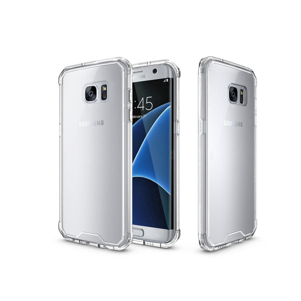 Shock Absorption Case for Samsung S7 Edge - Air Hybrid Armor Defender Protective Case - MoArmouz