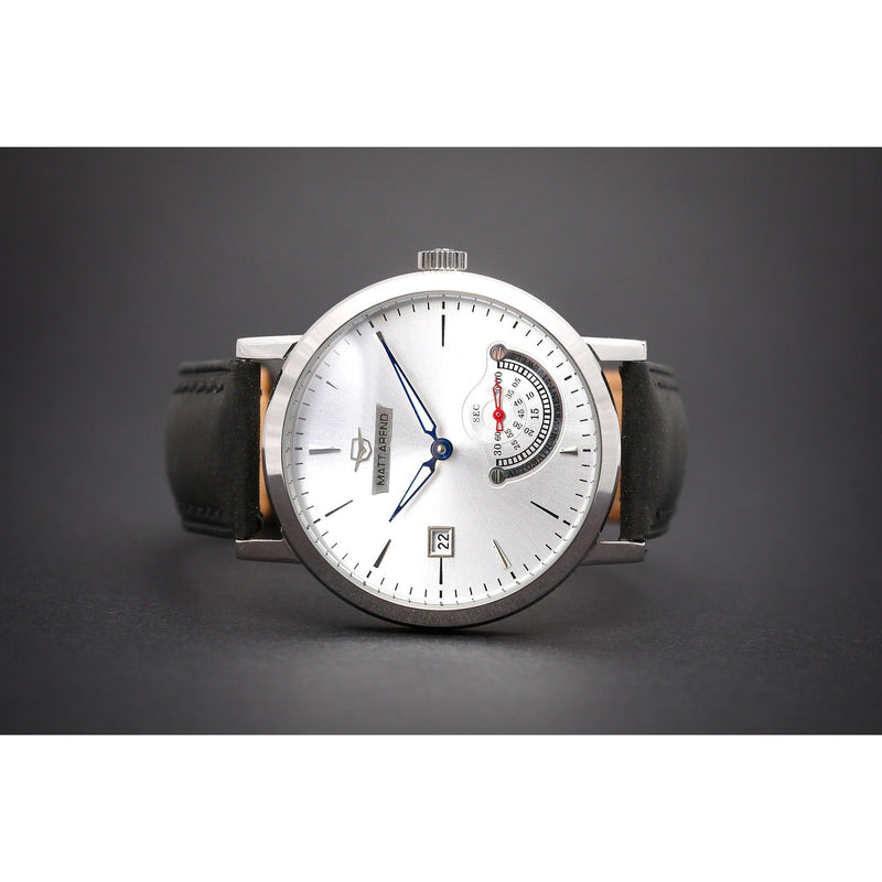 Ma 773 Deep Ocean Commitment Small Second Silver Black