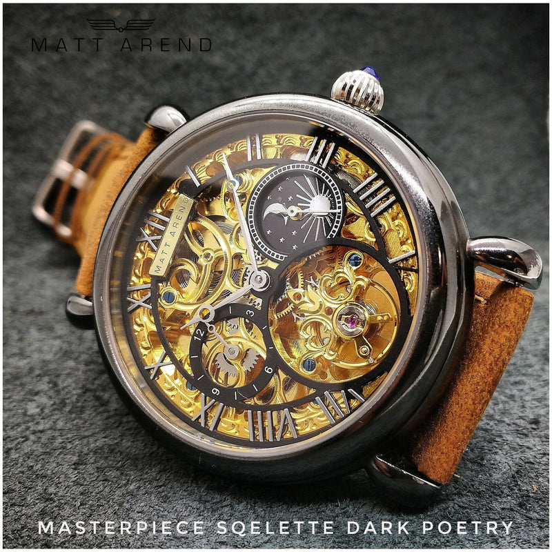 Ma 762 Sqelette Masterpiece Dark Poetry Calibre 2765
