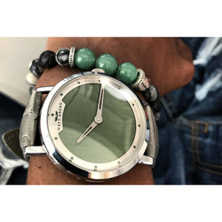 MA 827 Aspire Army Green / Silver