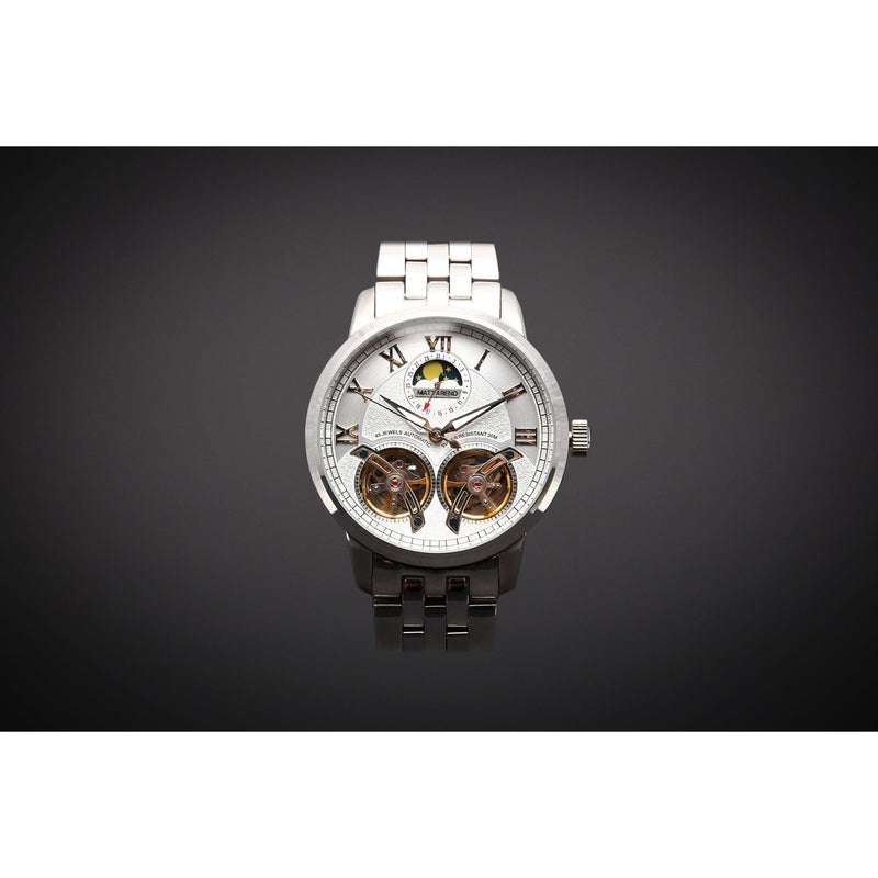 Ma 769 Heritage Dual Escapement Full Moon Silver