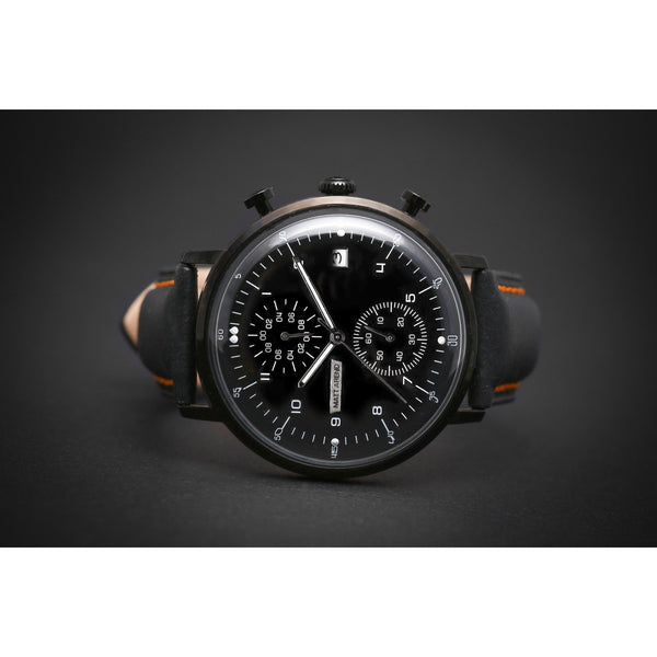 MA 802 Aquadome Chronograph Black / Black
