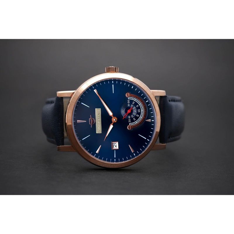Ma 752 Deep Ocean Commitment Small Second Rosegold