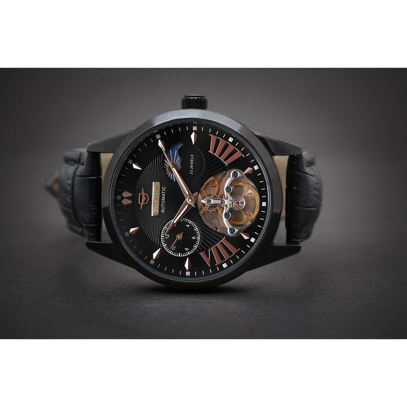 MA 768 Chronometre Jugendstil Open Heart Obsidian Black